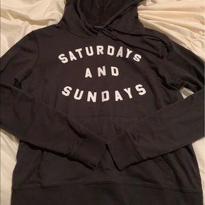 Saturdays and Sundays hoodie